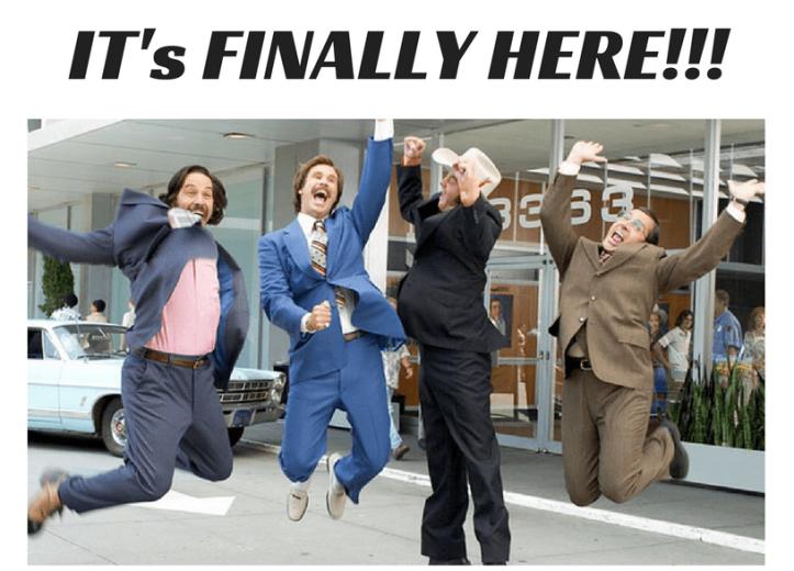 It's Here!!!